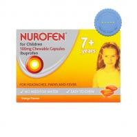 Nurofen for Children Soft Chewable Capsules Orange 12 Soft Chews -