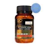 Buy GoHealthy Go Turmeric 600mg 30 Vegecaps - Prompt Dispatch