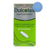 Buy Dulcolax Adult Suppository 6 Pack -
