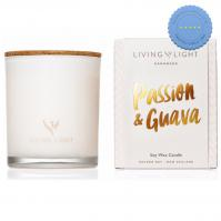 Buy liv light dream soy candle passion guava - Prompt Dispatch