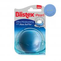 Buy Blistex Pearl Ultra Moisturising Shea Butter Blueberry Peach Lip Balm 7g -