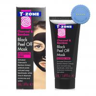Buy t zone charcoal black peel off mask 40ml - Prompt Dispatch