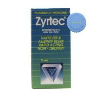 Buy zyrtec syrup 75ml -