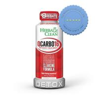 Buy Herbal Clean QCARBO Fast Cleansing Formula 16oz -