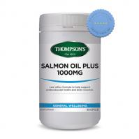 Buy Thompsons Salmon Oil Plus 1000mg 300 Capsules - Prompt Dispatch