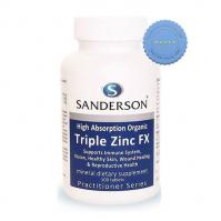 Buy Sanderson Triple Zinc FX Tablets 100s -