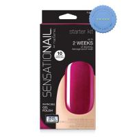 Buy Sensationail by Nailene Starter Kit Invincible Gel Polish Raspberry
