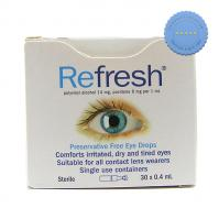 Buy Refresh Eye Drops 30 x 0.4ml
