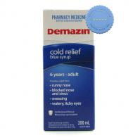 Buy Demazin Cold Relief Blue Syrup 200ml -