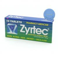 Buy Zyrtec Tablets 10mg 10s