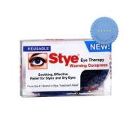 stye away eye warming compress 1 reusable compress and cover -
