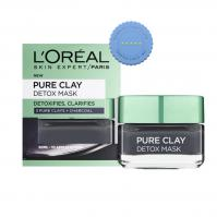 Buy LOreal Pure Clay Detox Mask with Charcoal 50ml - Prompt Dispatch