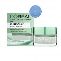 Buy Loreal Skin Expert Pure Clay Mask Purifies Eucalyptus 50ml -