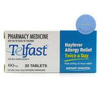Buy Telfast 60mg 20 Tablets
